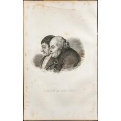 1838 - Portrait du Curé...