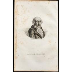 1838 - Portrait du duc de...