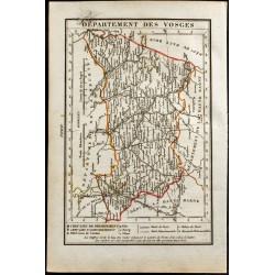 1823 - Carte du département...