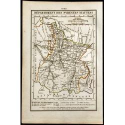 1823 - Carte des Hautes...
