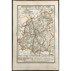 1823 - Carte du Puy De Dôme...