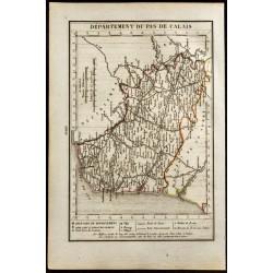 1823 - Carte du Pas De...