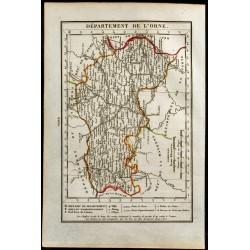 1823 - Carte de l'Orne -...
