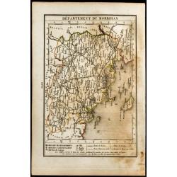 1823 - Carte du Morbihan -...