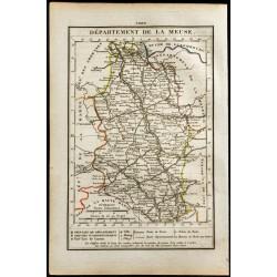 1823 - Carte de la Meuse -...