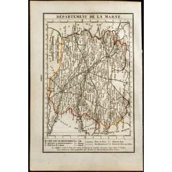 1823 - Carte de la Marne -...