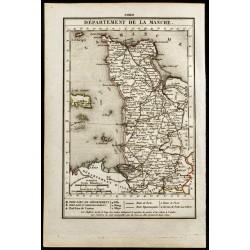 1823 - Carte de la Manche -...