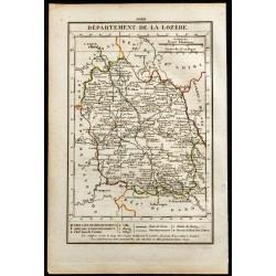 1823 - Carte de la Lozère -...