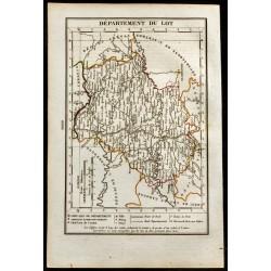 1823 - Carte du Lot -...