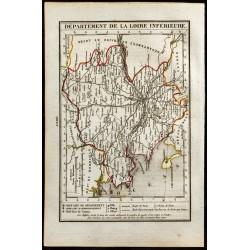 1823 - Carte de la Loire...