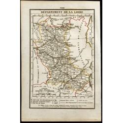 1823 - Carte de la Loire -...