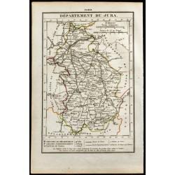 1823 - Carte du Jura -...