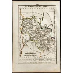 1823 - Carte de l'Isère -...