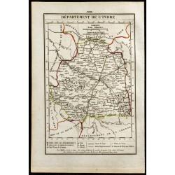 1823 - Carte de l'Indre -...