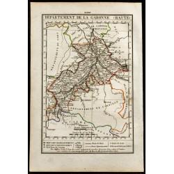 1823 - Carte de la Haute...