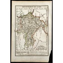 1823 - Carte du Gard -...