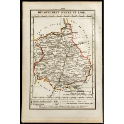 1823 - Carte d'Eure et Loir...