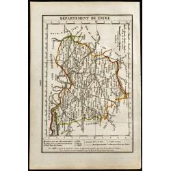 1823 - Carte de l'Eure -...