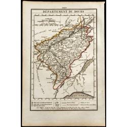 1823 - Carte du Doubs -...