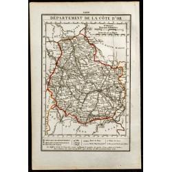 1823 - Carte de la Côte...