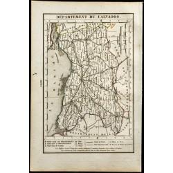 1823 - Carte du Calvados -...