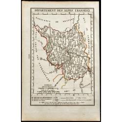 1823 - Carte des Basses...