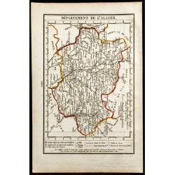 1823 - Carte de l'Allier -...