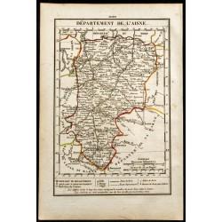 1823 - Carte de l'Aisne -...