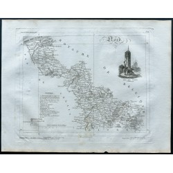 1830 - Carte ancienne du Nord