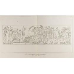 1876 - Vue d'un bas relief...