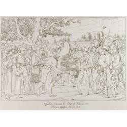 1876 - Napoléon recevant...