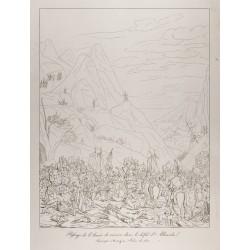 1876 - Passage de l'armée...