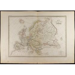 1846 - Carte de l'Europe