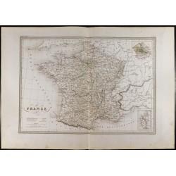 1846 - Carte de la France -...
