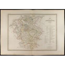1846 - Carte de la...