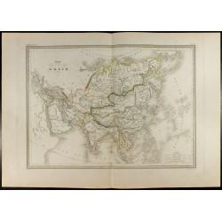 1846 - Carte de l'Asie