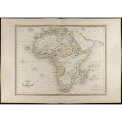 1846 - Carte de l'Afrique