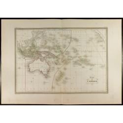 1846 - Carte de l'Océanie -...