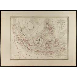 1846 - Carte de la Malaisie...