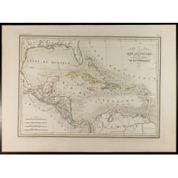 1846 - Carte des Antilles,...