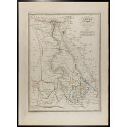1846 - Carte de l'Égypte...