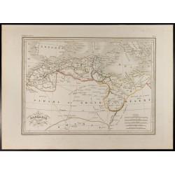 1846 - Barbarie - Carte de...