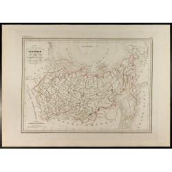 1846 - Carte de Sibérie ou...