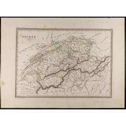 1846 - Carte de la Suisse