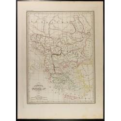 1846 - Carte de la Turquie...