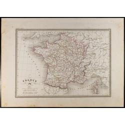 1846 - Carte de la France...