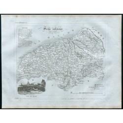 1830 - Carte ancienne de la...