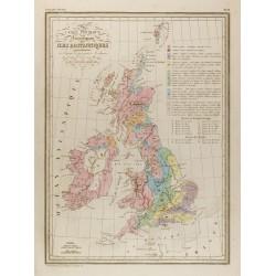 1846 - Carte Physique et...