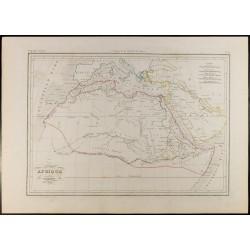 1846 - Carte de l'Afrique...
