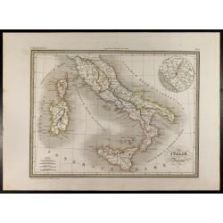 1846 - Carte de l'Italie...